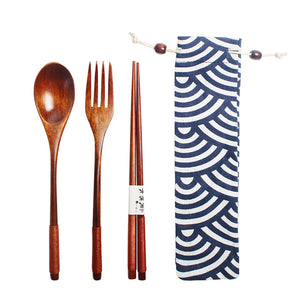 Wooden Japanese Style Cutlery
