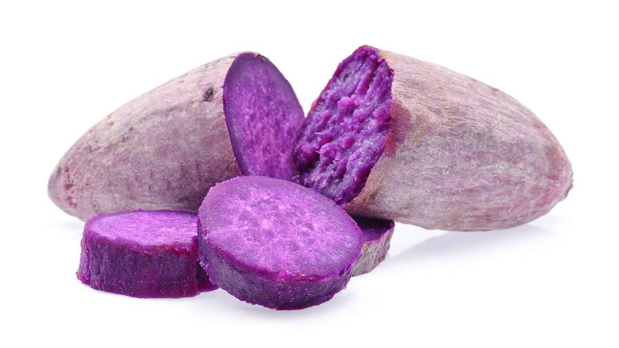 NZ Organic Kumara - Purple 1kg