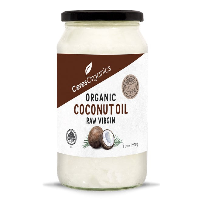 Organic Coconut Oil Raw Virgin 1 ltr