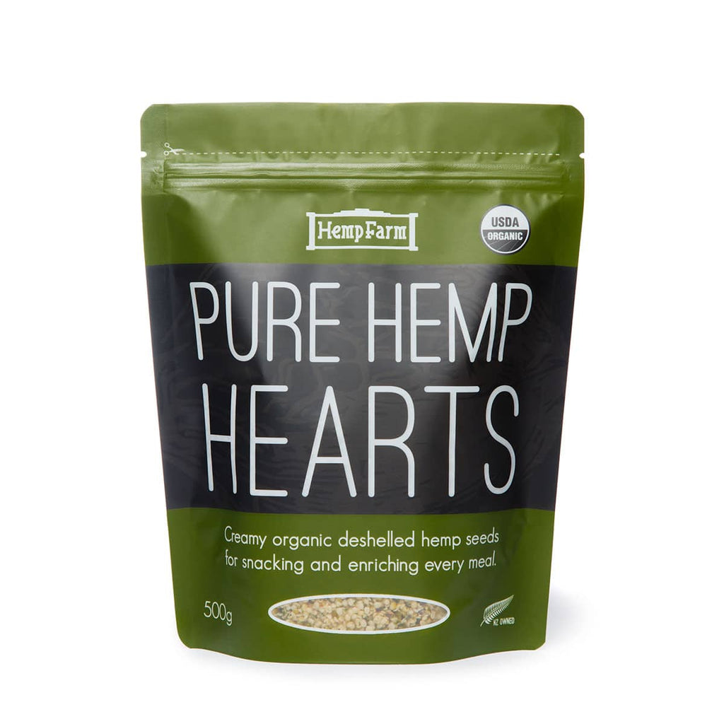 Pure Hemp Hearts - Organic 500g