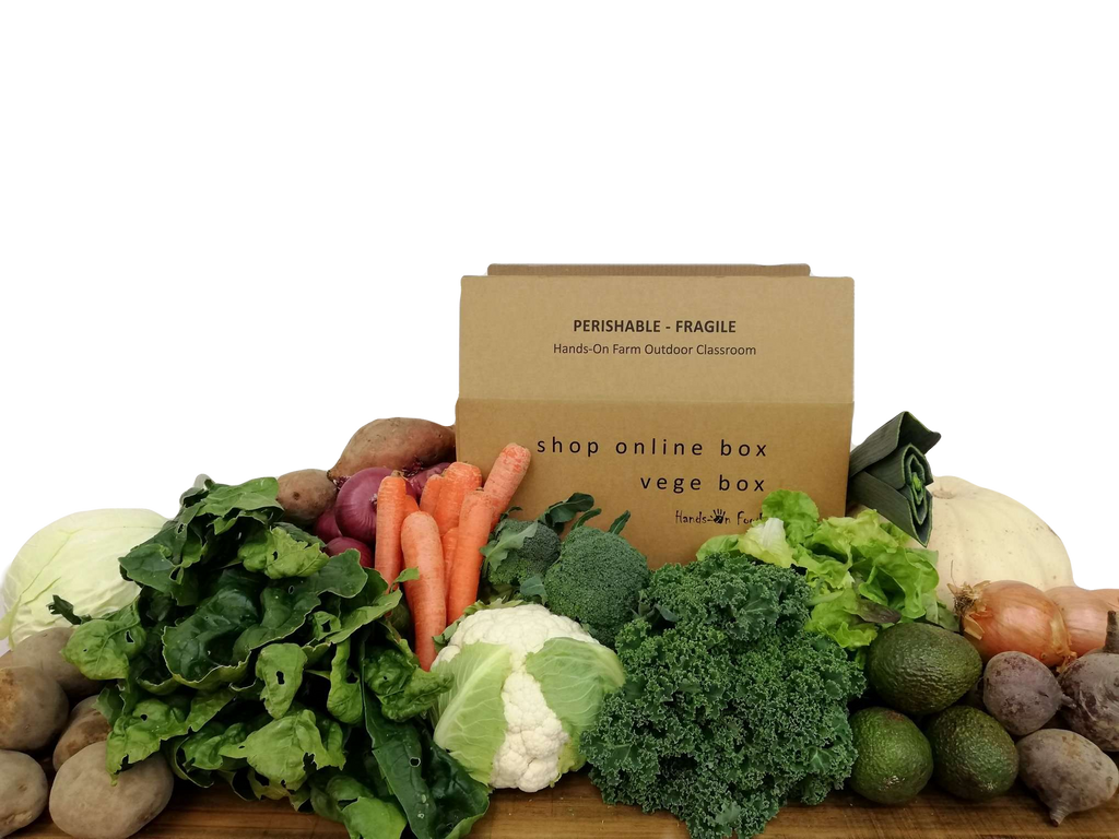 Organic/Spray Free Vege Box - Whopper