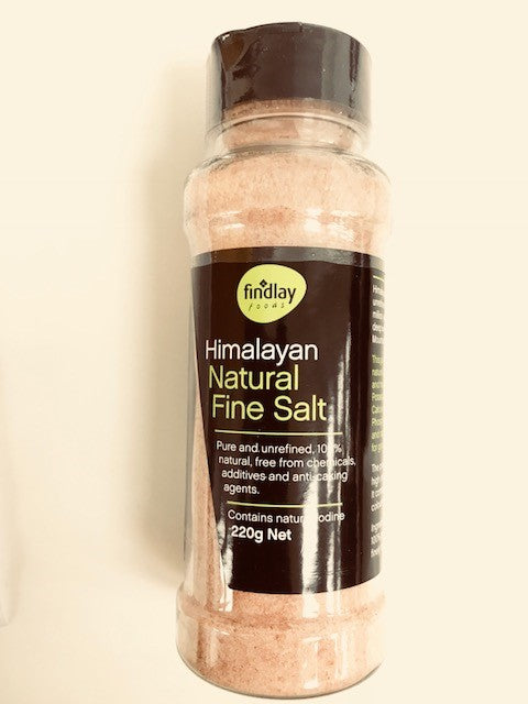 Pure Natural Himalayan Fine Salt - in Shaker 220g