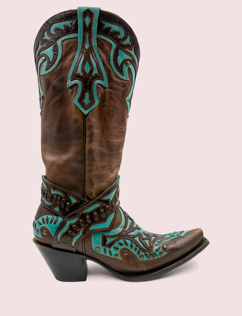 San Angelo | featured chocolate-teal