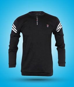 Online shopping Tshirt for men stylish full sleeve cotton zip in India