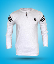 Load image into Gallery viewer, Online shopping Tshirt for men stylish full sleeve cotton zip in India
