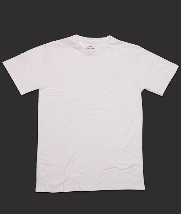 Premium white half sleeve cotton Tshirt for men online shopping in India