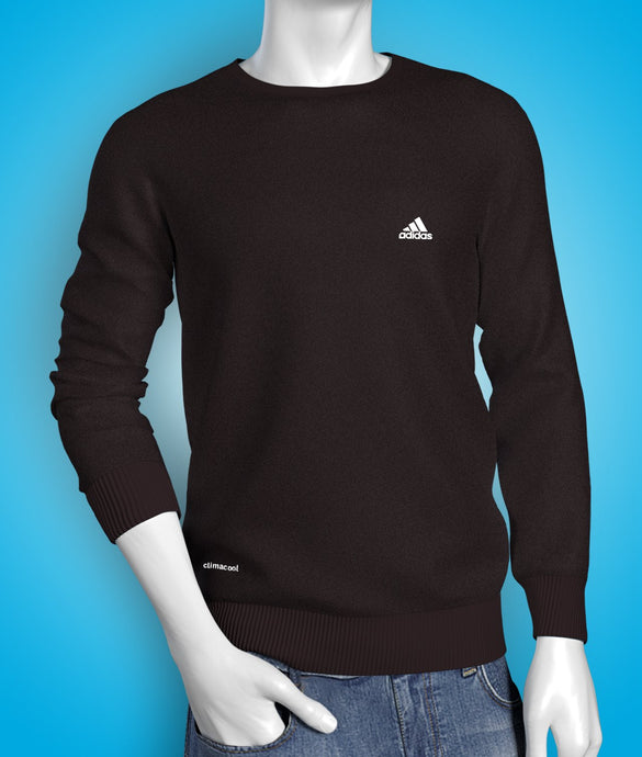 Premium black full sleeve cotton Tshirt for men online shopping in India