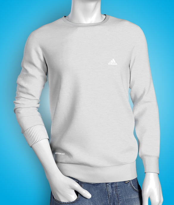 Premium grey full sleeve cotton Tshirt for men online shopping in India