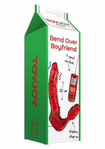 TOYJOY - BEND OVER BOYFRIEND VIBRATING RED