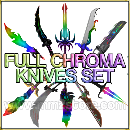 Full Chroma Knives Set