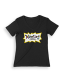 [ Baby's Gotta Do ] V-Neck T-Shirt