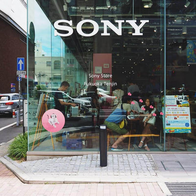 The Headphones Park in Sony Store