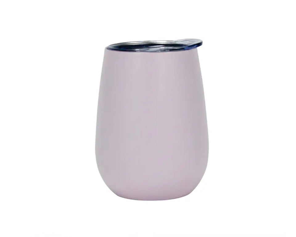 Portable Wine Tumbler - Bubblegum Pink