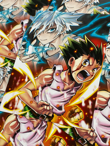 Gon & Killua Print  (limited colab)