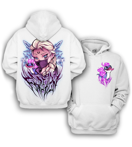 Limited Edition White Frozen Hoodie