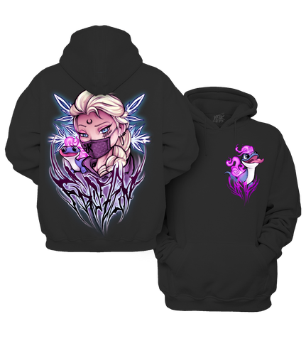 Limited Edition Black Frozen Hoodie