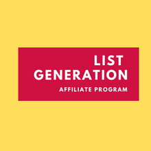 Load image into Gallery viewer, Affiliate List Generation