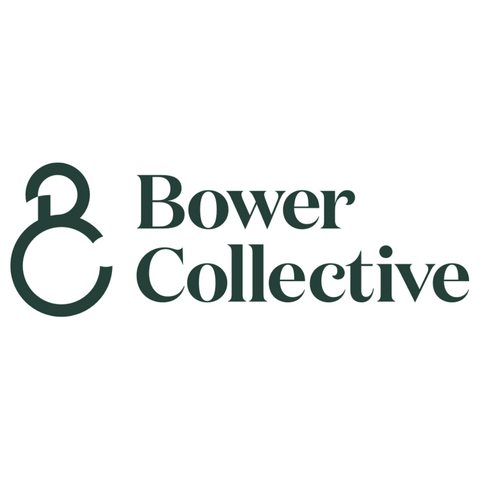 plastic-free sponges and compostable cloths available at Bower Collective