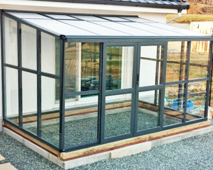 Lean-To Greenhouses