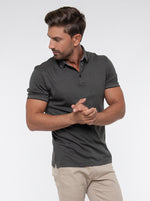 Load image into Gallery viewer, JACK MORGAN TAILORED OLIVE T-SHIRT/POLO