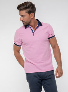 JACK MORGAN TAILORED PINK T-SHIRT/POLO