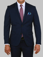 Load image into Gallery viewer, ALBERTO PAOLUCCI MIDNIGHT NAVY BLUE SUIT