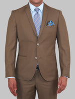 Load image into Gallery viewer, ALBERTO PAOLUCCI VINTAGE BROWN SUIT