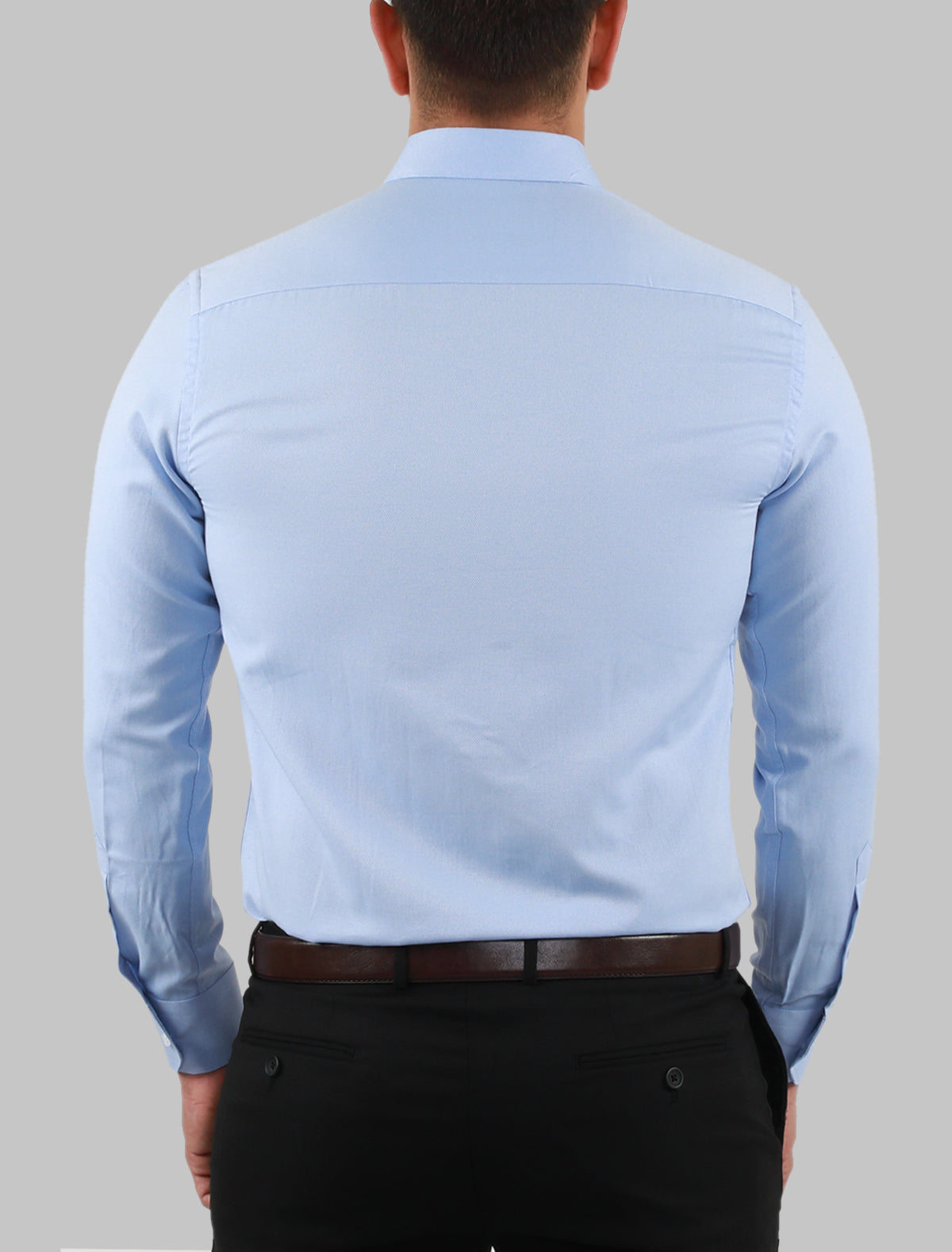 JACK MORGAN BLUE DRESS SHIRT