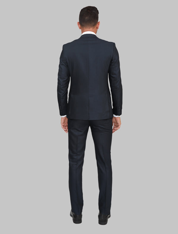 JACK MORGAN CHARCOAL GRAY THREE-PIECE SUIT