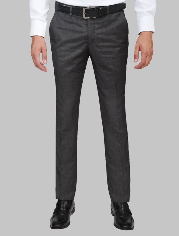 JACK MORGAN GREY AND BLACK THREE-PIECE SUIT