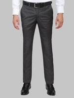 Load image into Gallery viewer, JACK MORGAN GREY AND BLACK THREE-PIECE SUIT