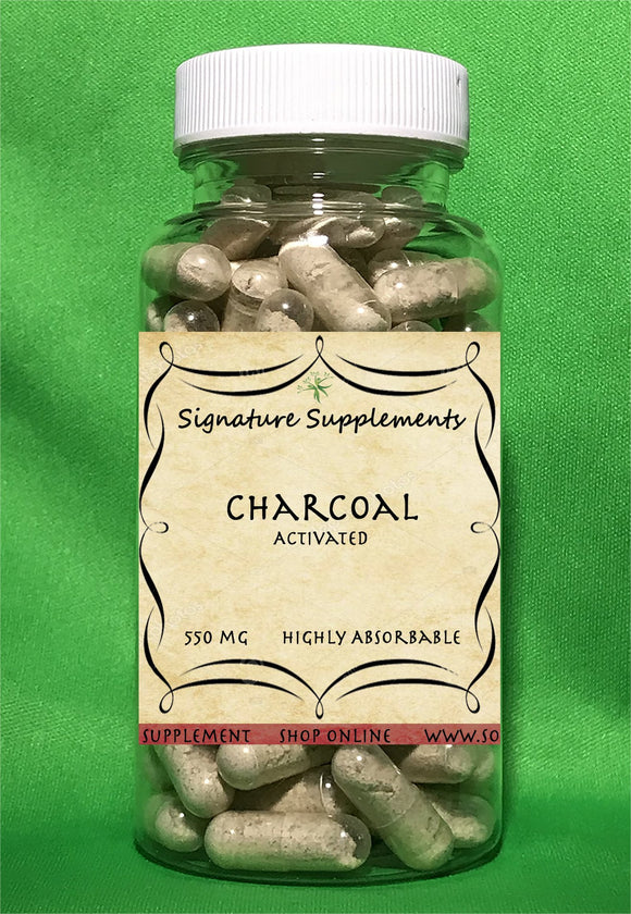 Charcoal - 100 Capsules