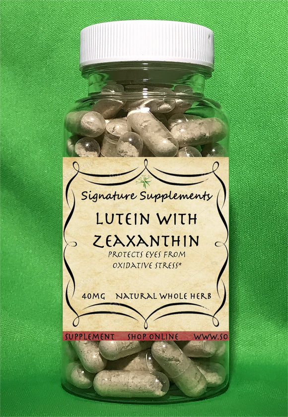 Lutein with Zeaxanthin - 100 Capsules