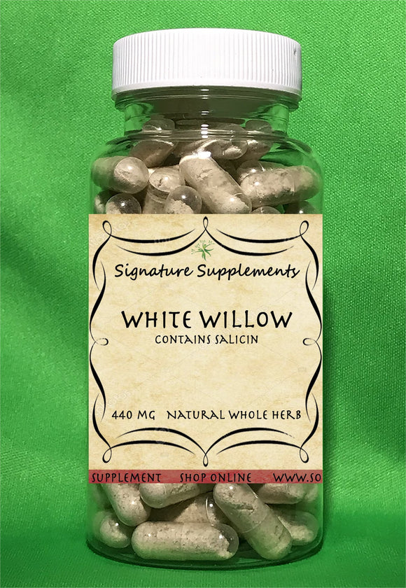 White Willow - 100 Capsules