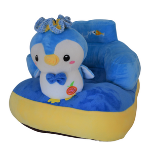 Plush Chair Blue Penguin Design