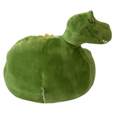 Plush Chair For Young Kids Green Dinosaur - The Royal Kids