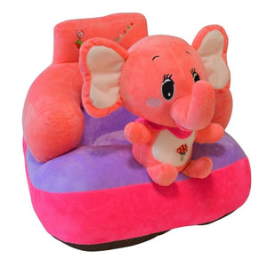 Plush Chair Red Elephant Design - The Royal Kids