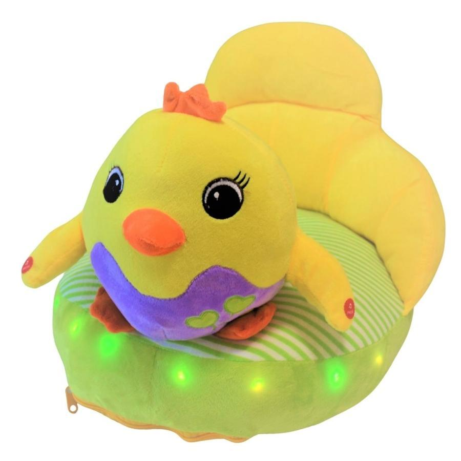 Plush chair with chick design