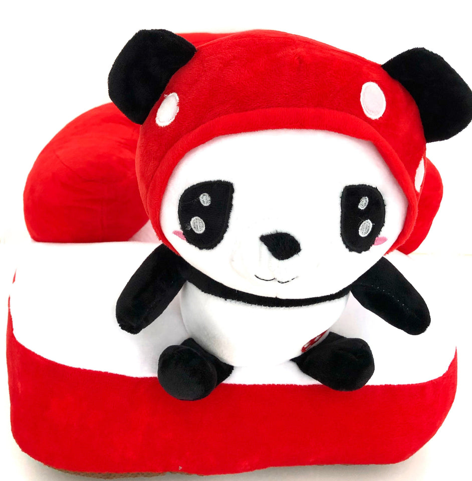 Plush Chair Red Panda Design - The Royal Kids