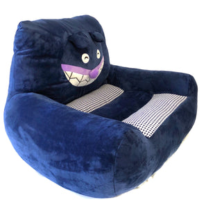 Plush Chairs For Boys Girls Navy Blue Bear Design