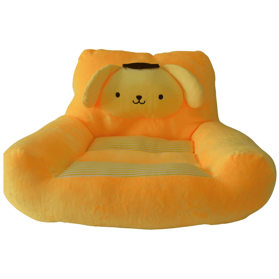Plush Chairs For Boys Girls  Yellow Dog Design - The Royal Kids