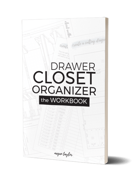 Drawer Closet Organizer | The Workbook