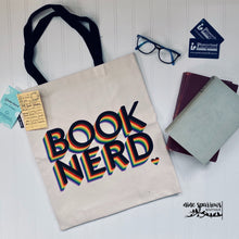 Load image into Gallery viewer, Book Nerd Tote Bag