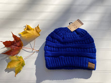 Load image into Gallery viewer, Navy CC Beanie