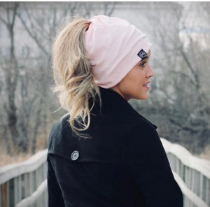 PONYTAIL, MESSY BUN BEANIE, MULTI-FUNCTION FACE COVER MASK