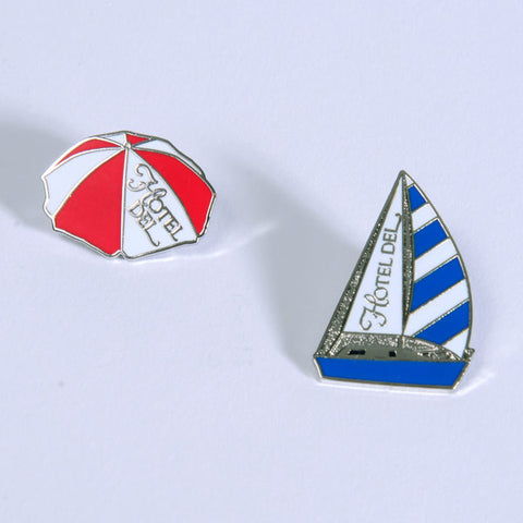 Umbrella & Sailboat Pins