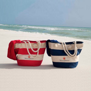 Signature Striped Beach Tote
