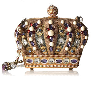 Queendom Mary Frances Crown Bag