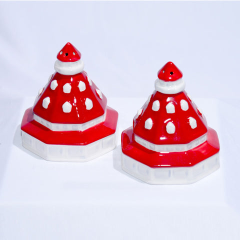 Hand-Painted Ceramic Salt & Pepper Shakers
