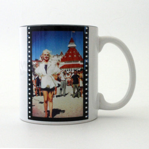 Marilyn Monroe at The Del Coffee Mug
